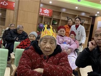 2020.1.15情暖老人心 集体生日会