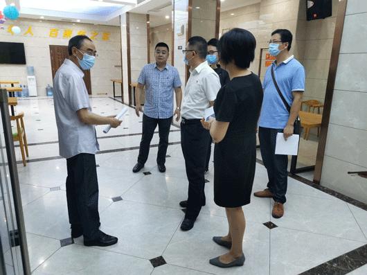 长寿区九三学社集体调研土湾街道百康年养老社区养老服务