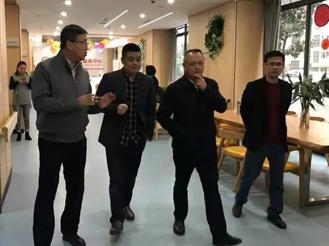 区政府陈桥副区长一行参观百康年(丰文)养老服务中心